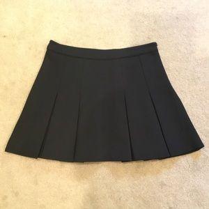 Black skater skirt F21, size Med